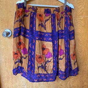 Sequined Poppy Skirt